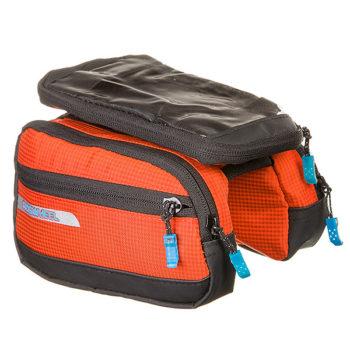 135907 2 350x350 - Велосумка Roswheel мод.121273 размер. M Hа раму, для телефона размер оранжевая.