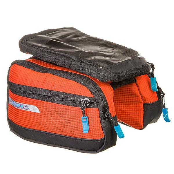 135907 2 - Велосумка Roswheel мод.121273 размер. M Hа раму, для телефона размер оранжевая.