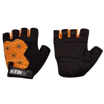 135910 2 350x350 - Перчатки STG Replay unisex   черно/оранж размер M