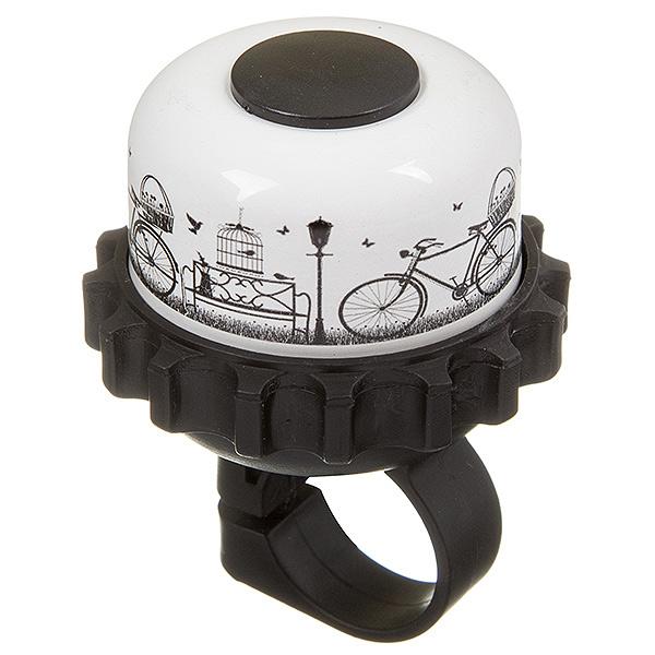 135932 2 - Звонок STG 23R-A  картинка с велосипедом.