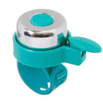 135934 2 350x350 - Звонок STG 11LD-04 серебр/голубой, с силиконовым хомутом