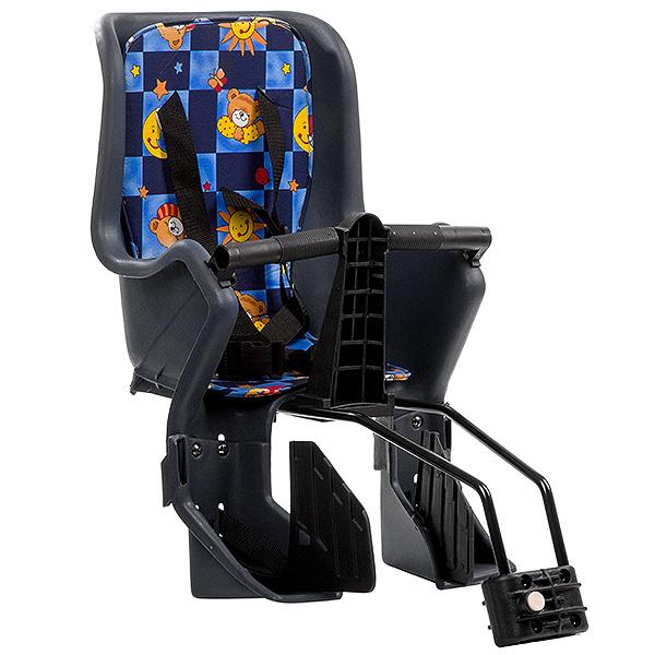 136000 2 - Кресло детское заднее GH-029LG серое  с разноцветным текстилем