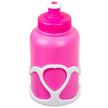 136020 2 350x350 - Велофляга STG с флягодержателем детская (Белый Флягодержатель, Розовая Фляга).