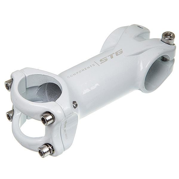 136362 2 - Вынос STG RA-623 90 мм под руль 31,8мм белый