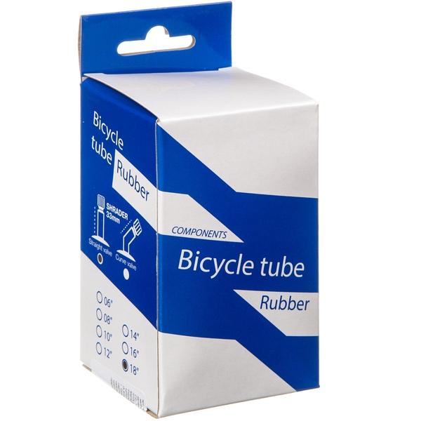 140446 2 - Камера велосипедная BT 18Х1,75/1,95 ,автониппель 33мм (упак.: коробка)