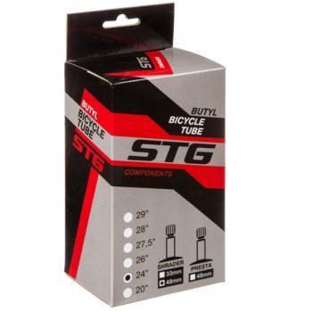 140452 2 350x350 - Камера велосипедная STG, бутил ,24Х2,5/3,0,автониппель 48мм (упак.: коробка)