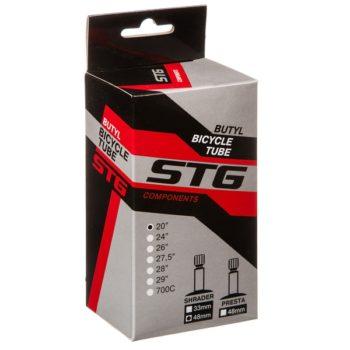 140458 2 350x350 - Камера велосипедная STG, бутил ,20Х2,125/2,5 ,автониппель 48мм (упак.: коробка)