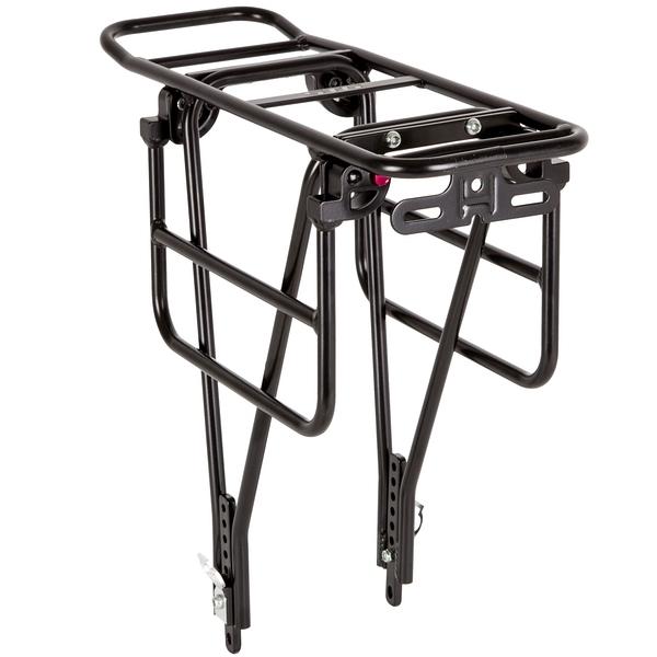 """141194 2 - Багажник для велосипеда 26-28"""", задний CD-266,серебр, под диск, с функц. Расширения платформы."""