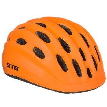 141246 2 350x350 - Шлем STG , модель HB10-6, размер  XS(44-48)cm оранж, с фикс застежкой.