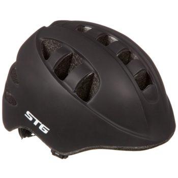 141255 2 350x350 - Шлем STG , модель MA-2-B, размер  XS(44-48)cm черн, с фикс застежкой.C Фонариком в застежке