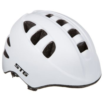 141259 2 350x350 - Шлем STG , модель MA-2-W , размер  S(48-52)cm белый, с фикс застежкой. C Фонариком в застежке