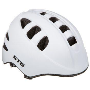 141260 2 350x350 - Шлем STG , модель MA-2-W , размер  M(52-56)cm белый, с фикс застежкой. C Фонариком в застежке